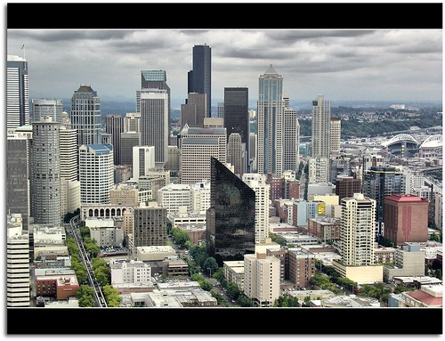 Seattle from life of Thomas Pynchon