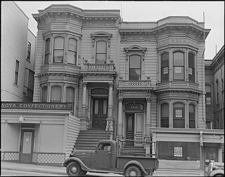 San Francisco, California. Dwelling is being vacated in the Japanese section near Post Street . . ., 04/07/1942