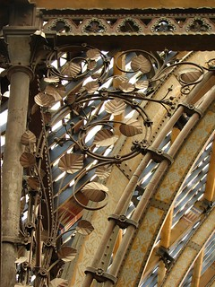 Ironwork spandrels