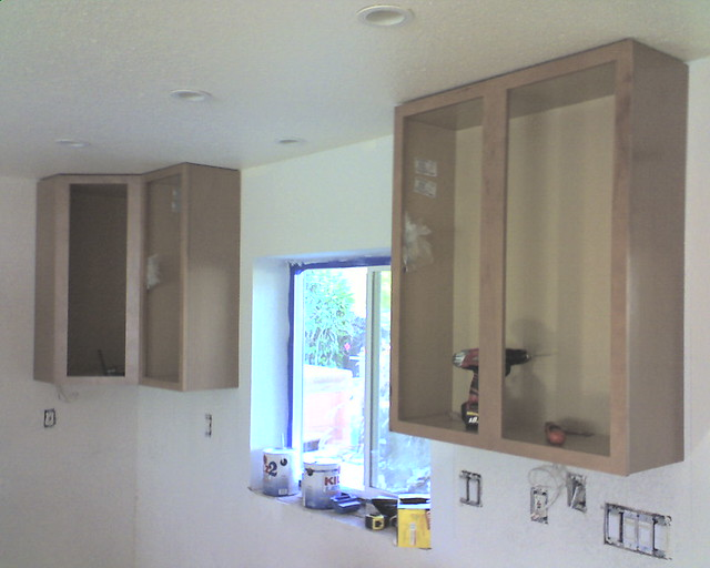 Installing Kitchen Cabinets On Uneven Wall