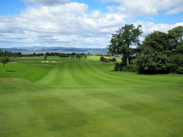 View From The Hole Down The 10th Fairway At Silverknowes