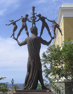 Old San Juan Statue ,Puerto Rico
