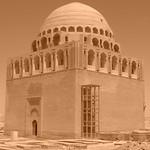 Mausoleum at Merv, a Silk Road City in Turkmenistan