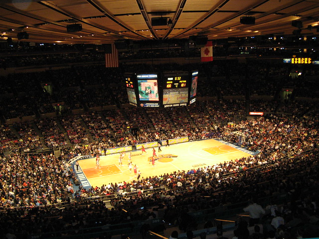 Madison square garden new york knicks madison square gar flickr photo sharing Madison square garden basketball