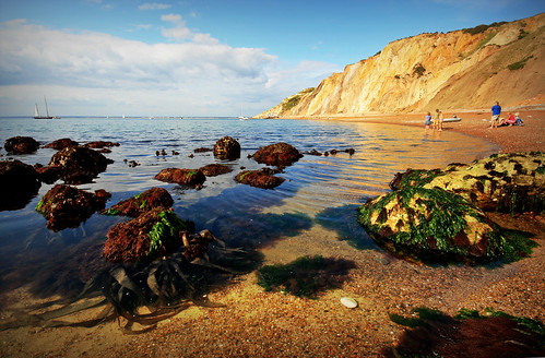 Low tide - Alum Bay, Isle of Wight