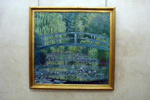 Paris - Musée d'Orsay: Claude Monet's Le bassin aux nymphéas, harmonie verte
