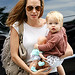 Angelina Jolie has some one-on-one time with her littlest – 16-month-old Shiloh – during a mommy-daughter date Friday at New York's FAO Schwarz.