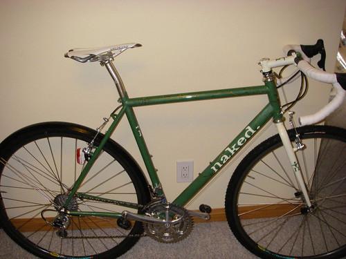 naked CX bike