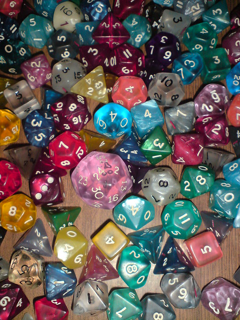 what is a 30 sided die called out by barbara