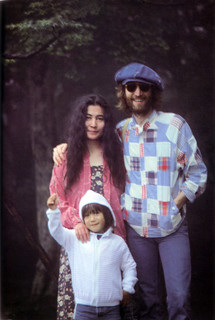 John, Sean, and Yoko in Karuizawa