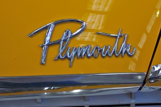 1959 Plymouth Belvedere badge