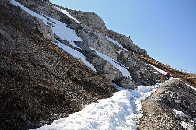 Climbing further up