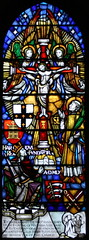 Harold window, Waltham Abbey