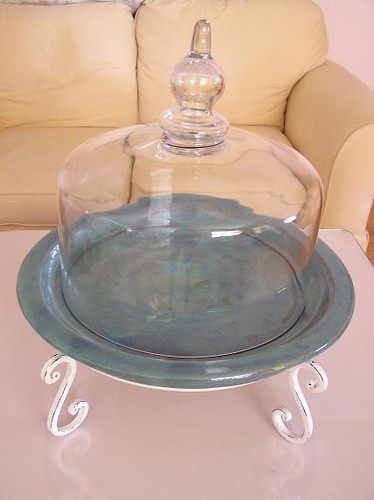 Large Dome Cake Plate 1