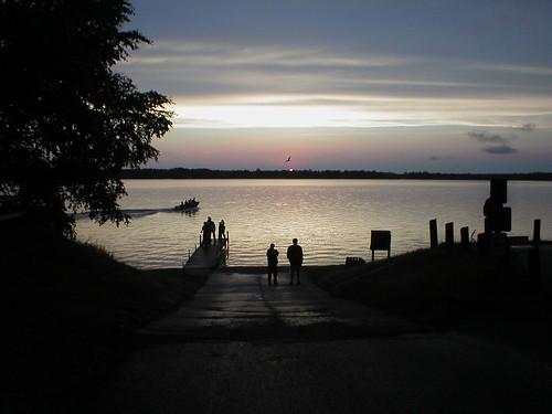 sunset outdoors
