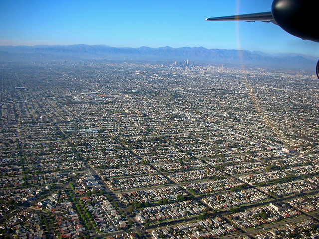 Urban Sprawl Los Angeles Flickr Photo Sharing