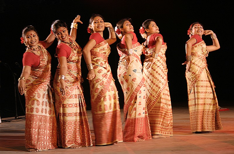 Bihu Dance Of Assam Flickr Photo Sharing