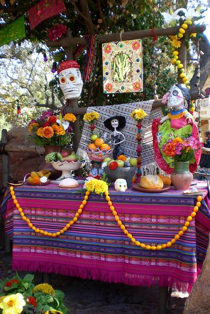 Dia De Los Muertos Altar Flickr Photo Sharing