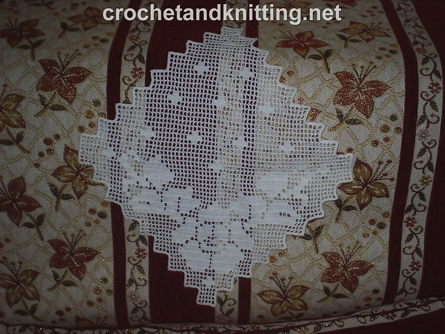 PATTERN FREE CROCHET TABLECLOTH DOILIES « CROCHET FREE PATTERNS