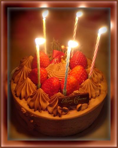 Our Christmas cake...