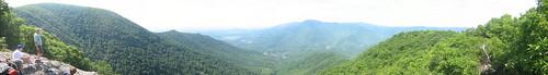 panorama scouts jun hangingrock 2007 troop737 threeridges