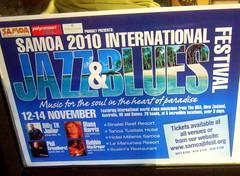 2010 Samoa International Jazz & Blues Festival