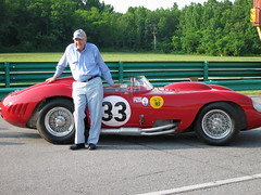 Carroll Shelby @ VIRginia International Raceway  - 2007