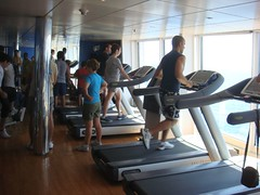 bodypump(0.0), sport venue(0.0), sports(0.0), exercise machine(1.0), room(1.0), muscle(1.0), physical fitness(1.0), gym(1.0),