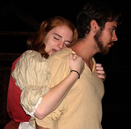 Abigail Williams seduces John Proctor in The Crucible