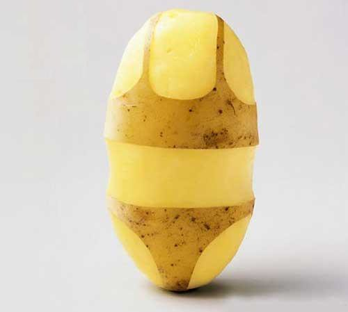 Potatoe bikini