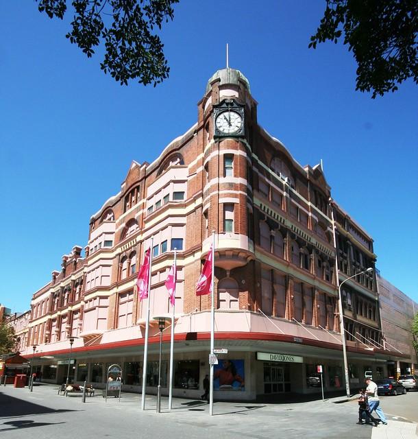 David Jones Store, Newcastle