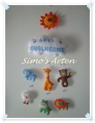 Enfeite de Porta Luis Guirlherme by Artes by Simo's®