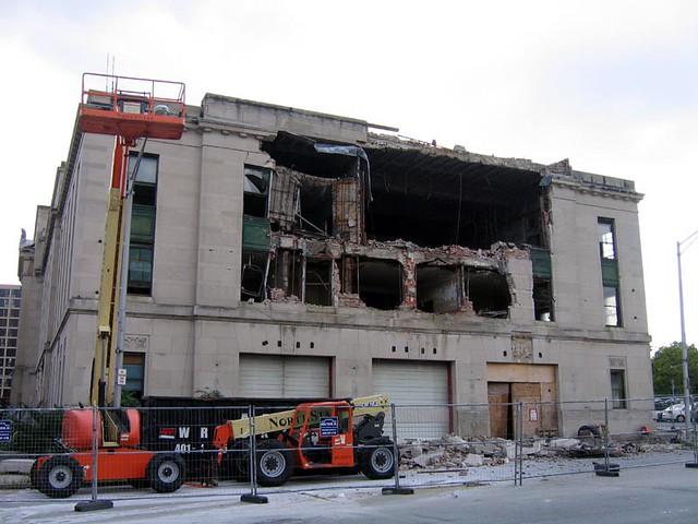 Old Public Safety Complex Demolition
