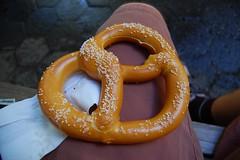 orange, yellow, food, snack food, pretzel,