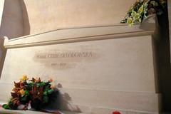 Paris - Latin Quarter: Panthéon - La crypte galerie nord - tombe de Marie Curie Sklodowska