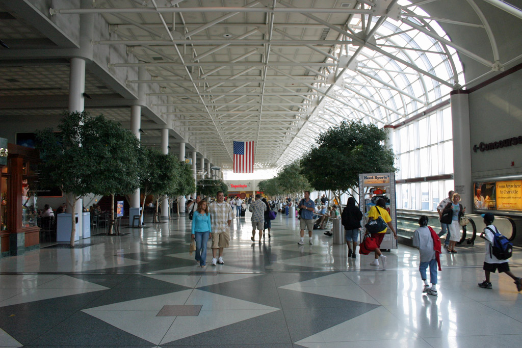 Charlotte Airport Food Court