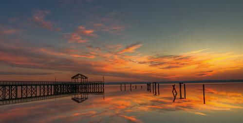 park beach water sunrise virginia pier nps wideangle tokina1224 tokina chesapeake leesylvania d300 princewilliamcounty leesylvaniapark abigfave