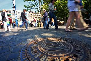 Munich manhole