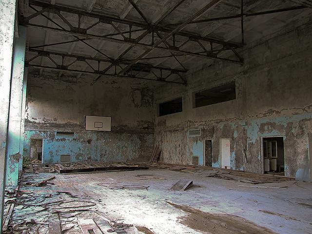 Pripyat Gymnasium - При́пять Гымнасиум