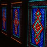 Khan's Palace Mosaic Windows - Sheki, Azerbaijan