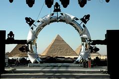 pyramid through star gate