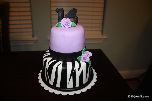 Purple Zebra Cake Flickr - Photo Sharing!