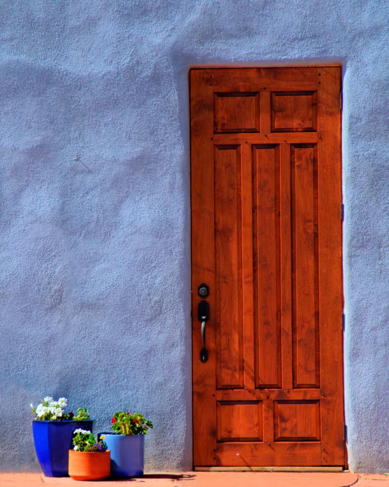 Abiquiu Door