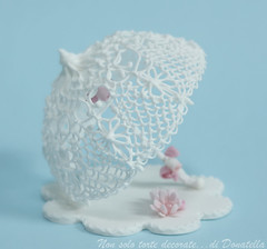Royal Icing filigree parasol