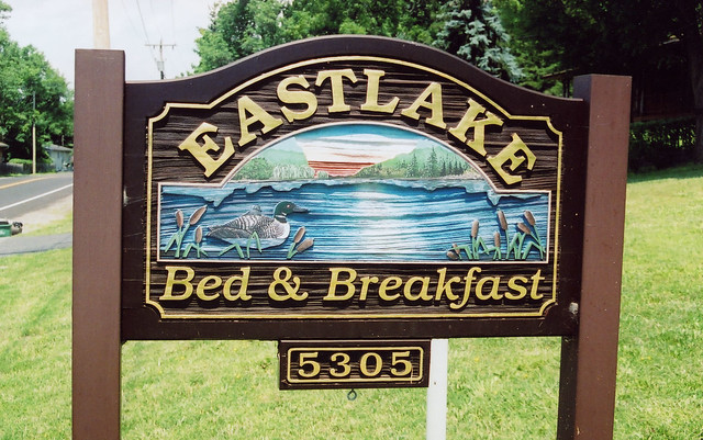 Eastlake Bed And Breakfast Sign Flickr Photo Sharing