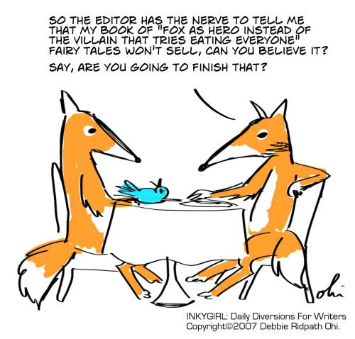 Foxy writer