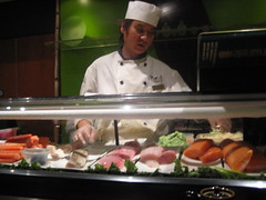 culinary art, fish, cook, food, dish, cuisine, chef, cooking, person,