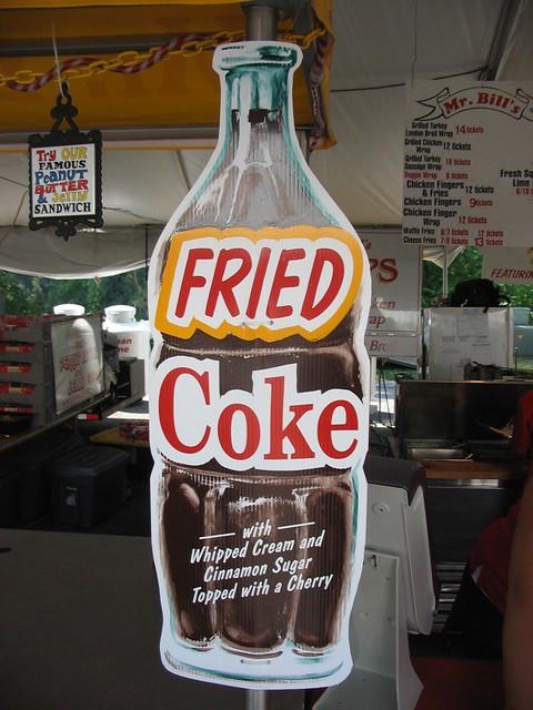 ... fried almonds fried okra fried chicken deep fried coke flickr photo