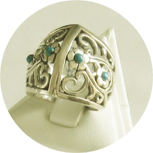 white gold turquoise ring white gold 14k gold wedding bands