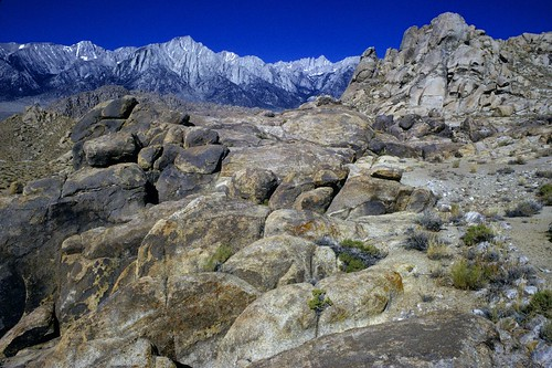 Alabama Hills Old Camp View